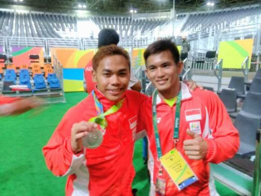 Raih Medali di Olimpiade, Eko dan Sri Dapat Bonus Rumah