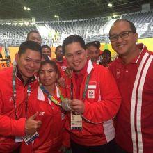 Rosan Bangga Angkat Besi Pertahankan Tradisi Medali Olimpiade