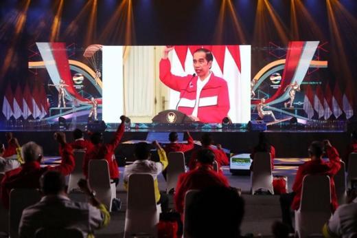 Jokowi Minta Tata Ulang Sistem Pembinaan Atlet