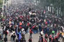 IDI Ungkap Potensi Lonjakan Masif Covid-19 dari Massa Demo