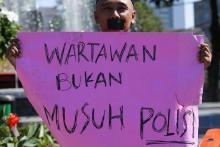 Jumlah Jurnalis Korban Intimidasi saat Meliput Demo Tolak Ciptaker, Kata LBH Pers
