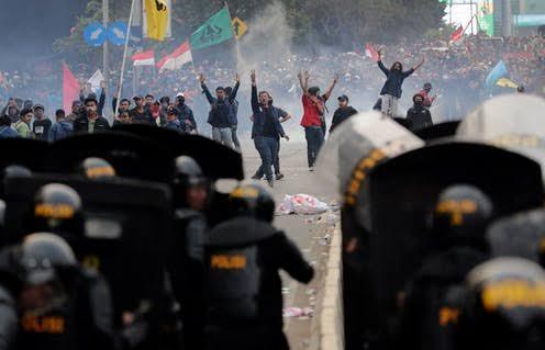 Liputan Demo, Jurnalis Merahputih Hingga Saat Ini Belum Diketahui Keberadaannya