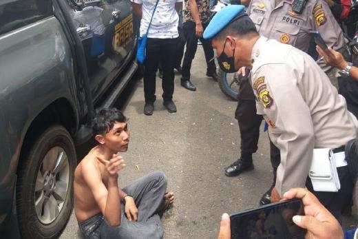 Polisi Amankan 1.192 Anarko Demo Tolak Ciptaker