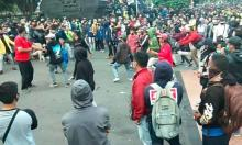 Anarko Demo Tolak Ciptaker Didominasi Anak STM