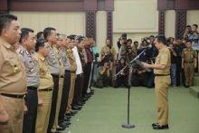 Gubernur Ridho Lantik Satgas Saber Pungli Lampung