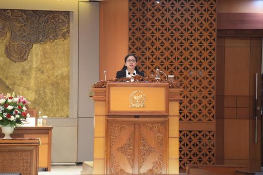 Buka Masa Sidang II, Puan Tegaskan DPR Tetap Produktif di Masa Pandemi