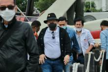 Beri Dukungan Moral Petugas SAR, LaNyalla Ajak Senator Tinjau Lokasi Jatuhnya Pesawat Sriwijaya Air