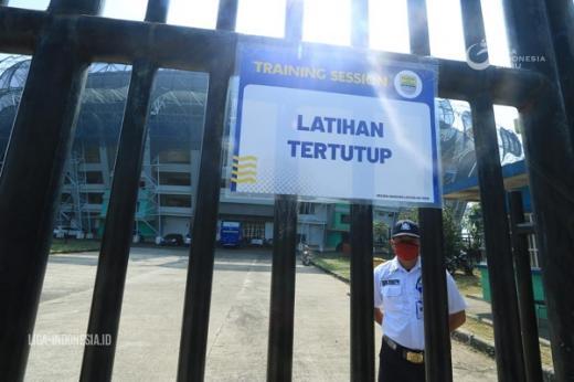 Pandemi Covid 19, Persib Bandung Latihan Tertutup