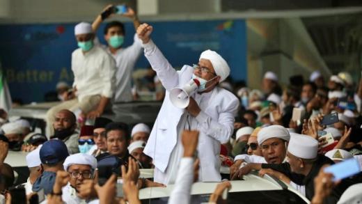 Pria di Slipi Meninggal di Tengah Momen Penyambutan HRS