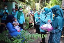 Hari Pahlawan Nasional, Kepri Sebar Masker dan Makanan Lawan Pandemi