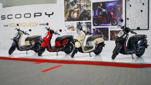 Honda Scoopy Baru Makin Keren dan Canggih, Harga Mulai dari Rp 19,95 Jutaan Lho...