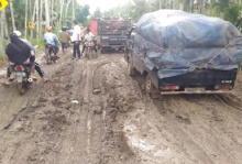 Jalan Rusak Lokasi Wanita Wafat Saat Macet ke RS di Jambi Segera Diperbaiki