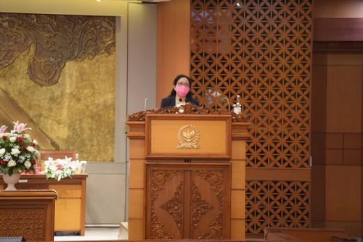 Berikut Pidato Lengkap Puan Maharani di Paripurna DPR RI