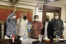 Proposal Pemekaran Provinsi Kapuas Raya Resmi Diserahkan ke Pimpinan DPD RI