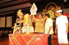 Buka Pakemnas IX Peradah di Art Centre Denpasar, Bali, Oesman Sapta Sampaikan Sosialisasi 4 Pilar