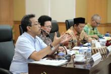 Reses, Senator dari DIY Gelar Rapat Sensus Penduduk 2020 dengan BPS