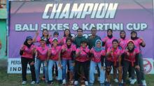 Bali Juara Turnamen Cricket Piala Kartin Cup IV/2021