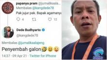 Ditanya Netizen Soal Agama, Komisaris PT Pelni Sebut Dirinya Penyembah Galon