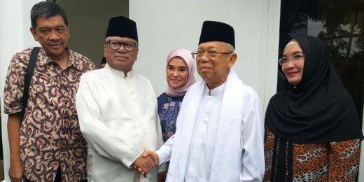 Maruf Amin Tak Membantah, Jika Dirinya Masih Jabat Dewan Pengawas Syariah Dua Bank BUMN