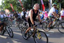 Sebanyak 4000 Peserta Sepeda Nusantara Buktikan Lombok Aman