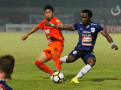 Cetak Dua Gol Dalam Empat Menit, Borneo FC Bungkam PSIS Semarang