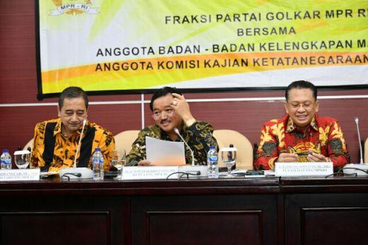 Fraksi Partai Golkar di MPR Gelar Rapat Perdana, Ini yang Dibahas
