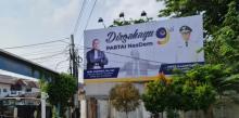 Wajah Anies Terpampang di Baliho HUT Nasdem, Sinyal 2024?