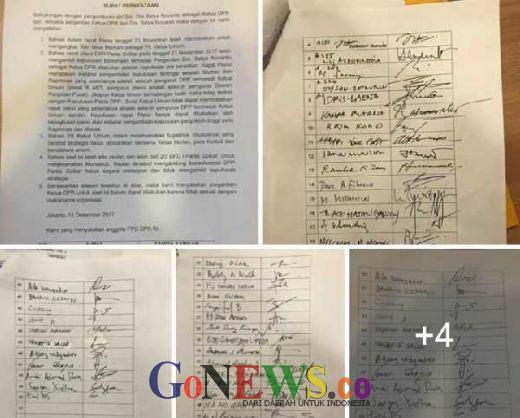 Waduh, F-Golkar Rame-rame Galang Tanda Tangan Tolak Aziz Syamsuddin Jadi Ketua DPR