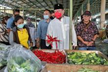 Ketua DPD RI Ingin Pasar Tradisional Dukung Pemulihan Ekonomi Masyarakat