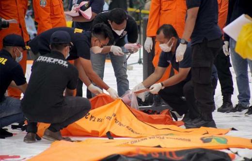 Update Evakuasi Sriwijaya Air: 74 Kantong Jenazah Dan 30 Kantong Potongan Pesawat