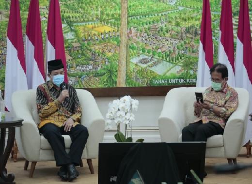 Kementerian ATR/BPN Mobilisasi Jajaran Bayar ZIS ke Baznas