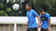 Bagas Kaffa Menikmati Jalani TC Timnas SEA Games 2021