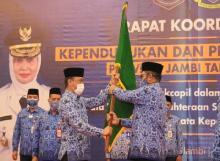 Zudan Kukuhkan Sudirman sebagai Ketua Korpri Jambi