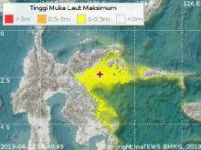 Peringatan Dini Tsunami Gempa Sulteng Dinyatakan Berakhir