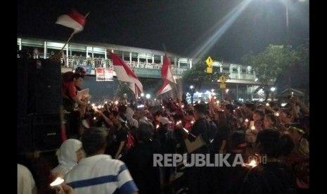 Demo Massa Pro Ahok Dibiarkan Hingga Tengah Malam, Ini Dalih Polisi Berikan Perlakuan Berbeda