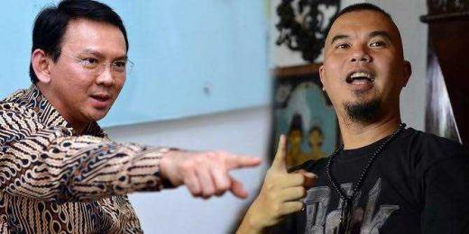 Jika Petahana Menang, Ahmad Dhani Ancam Pindah ke Depok, Ahok: Saya Akan Buat Dia Benar-benar Penuhi Janjinya