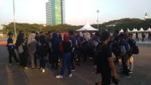 Kapolri dan Artis Hadiri Pawai Obor Api Asian Para Games III di Makassar