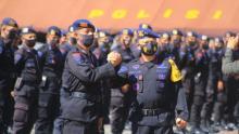 Amankan Aksi Tolak Omnibus Law, 200 Personel Brimob Maluku Dikirim ke Jakarta