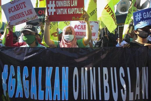 Tegas! Serikat Pekerja Afiliasi NU Bakal Gugat UU Cipta Kerja ke MK