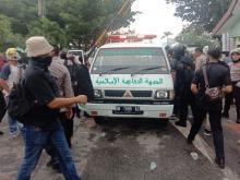 Viral.. Oknum Polisi di Riau Teriaki Ambulans FPI sebagai Mobil Dajjal