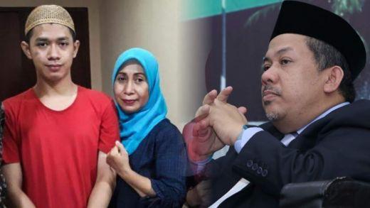 Jalani Sidang Perdana, Fahri Hamzah Ajak Doakan Luthfi, Pelajar Viral Pembawa Bendera Merah Putih