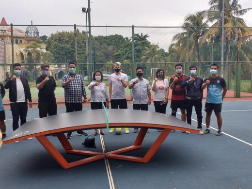 Rifky Hermiansyah Siap Kembangkan Teqball di Banten