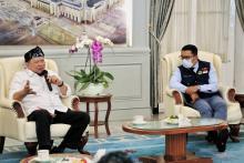 Bertemu Ketua DPD RI, Ridwan Kamil Curhat Soal Pemekaran Daerah di Jabar