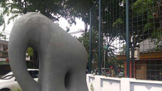 Polemik Anggaran Rp 1 Miliar di Balik Viralnya Patung Gajah Mungkur Lucu di Gresik