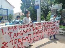 Aliansi Pemuda Anti Korupsi Sumatera Utara Desak Kejagung Periksa Bupati Tapanuli Tengah
