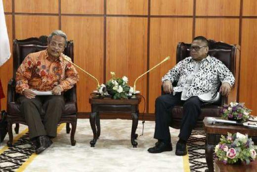 Oesman Sapta Dukung Indonesia Memiliki Pembangkit Listrik Tenaga Nuklir
