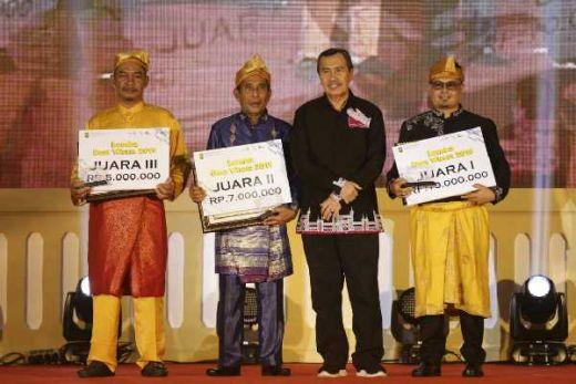 Berhasil Kembangkan Pariwisata, Sejumlah Desa di Riau Terima Penghargaan dari Gubri