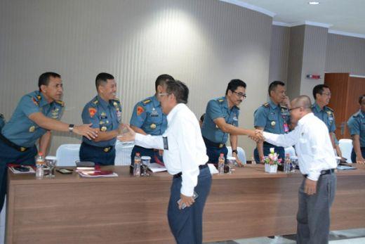 Tim Wasrik Badan Pemeriksa Keuangan Sambangi Kodiklatal