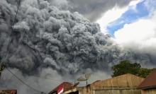 Gunung Sinabung Kembali Erupsi, Status Level III