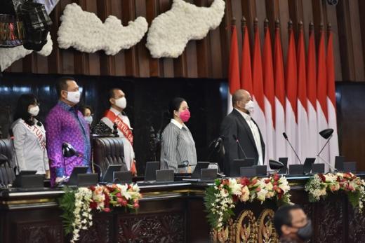 Jelang Sidang Istimewa, Puan Maharani Geladi Bersih dan Cek Kesiapan Ruang Pidato Kenegaraan Jokowi